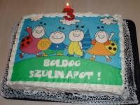 Koncz Kata tortája - Készítette: Zsitvai Cukrászda, Szekszárd