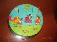 Brigi tortája - Készítette: Anyukája