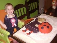 Rozi Második születésnapi tortája - Készítette: Gábris Zsuzsanna