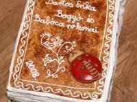 Mézeskalács-könyv a Kunhegyesi író-olvasó találkozóról, 2008