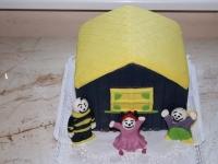 Torta a Veszprémi mackó Cukrászdából
