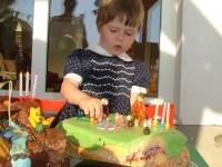 Bogyó és Babócás torta Murányi Jerne harmadik születésnapjára - Készítette: Trepszker Zsuzsa