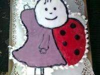 Németh Hédi 3. szülinapjára  - Ki készítette a tortát: Bõle Boglárka