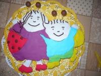Krista Korina tortája - Ki készítette a tortát: Testvére
