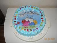 Balázs 3. születésnapjára Ki készítette a tortát: Anyukája