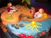 Annának és Emmának Ki készítette a tortát: Mottel Viktorné Andrea