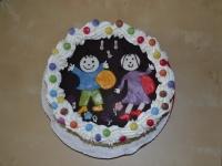 Dani Ki készítette a tortát: Judit Cukrászat - Gyõr