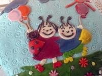 Noéminek 3.szülinapra Ki készítette a tortát: Ottófiné Tarró Zsuzsanna