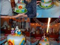 Kinek készült a torta: Norka 2. születésnapjára Ki készítette a tortát: Vári Zsófia