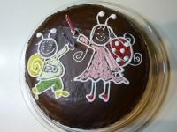 Kinek készült a torta: Dorka 2. születésnapjára Ki készítette a tortát: Györgykovács Adrienn