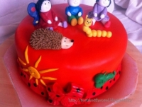 A torta készítõje:  Mottel Viktorné Andrea