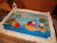 Kinek készült a torta: Král Gergõnek - Ki készítette a tortát: Cukrászda