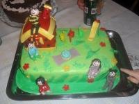 Kinek készült a torta: Bonta Istvánnak 3 éves szülinapjára, Ki készítette a tortát: Pozbai Józsefné