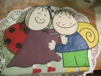 Lianna elsõ Bogyó és Babóca tortája Készítette: Matuska Diána
